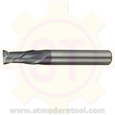 EMC302 STK เอ็นมิลคาร์ไบท์ เคลือบ ALTiN-COATED 2 ฟัน