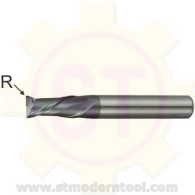 EMC342 STK เอ็นมิลคาร์ไบท์ R เป็นมุมมน เคลือบ ALTiN-COATED) 2 ฟัน