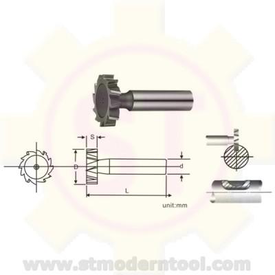 EM501/EM502 STK HSS  คัตเตอร์ตัว T