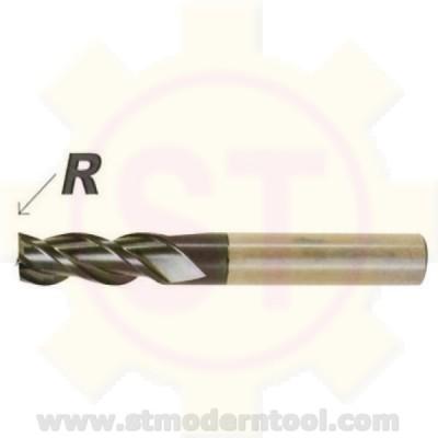 EM992 STK  เอ็นมิลเคลือบเพชร สำหรับกราไฟส์  3 ฟัน R เป็นมุมมน