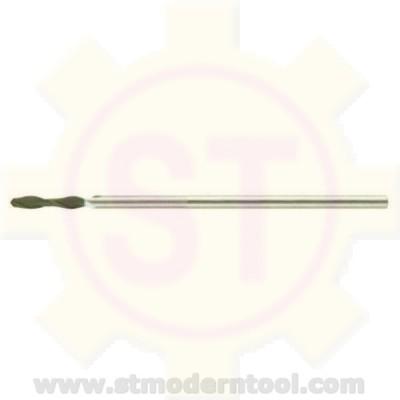EM983 STK  เอ็นมิลเคลือบเพชร สำหรับกราไฟส์ 2 ฟัน หัวมน รุ่นยาว