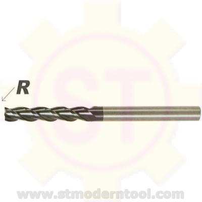 EM993 STK  เอ็นมิลเคลือบเพชร สำหรับกราไฟส์ 3 ฟัน รุ่นยาว R เป็นมุมมน