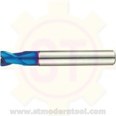 EM712  STK X70-POWER เอ็นมิลคาร์ไบท์ 2 ฟัน สำหรับเหล็กแข็ง 60-70 HRC